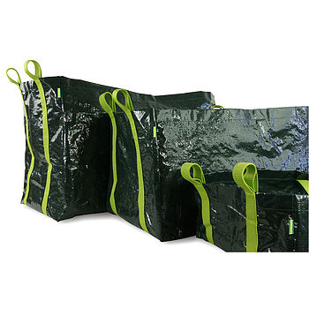 Three Salad And Veg Planter Bags