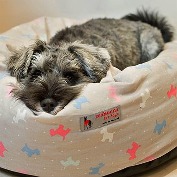 Donut Dog Bed Alfie Dog Print