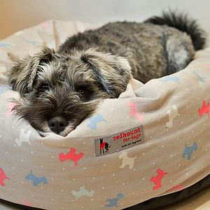 Donut Dog Bed Alfie Dog Print - beds & sleeping