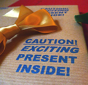 'Exciting Present!' Handmade Wrapping Paper - shop by category