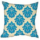 Damasutra Cushion Indigo Faux Suede Square
