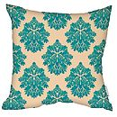 Damasutra Cushion Teal Faux Suede Square