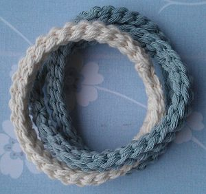 Handmade Cotton Bangles - women's jewellery