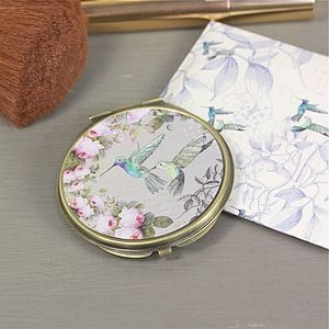 The Aviary Compact Mirror In Two Designs - beauty accessories