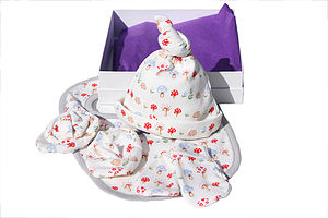 Mushroom Forest Baby Gift Box - clothing
