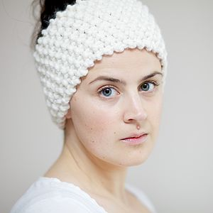 Chunky Knitted Ear Warmers