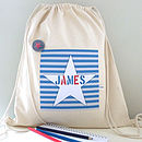 Boy's Personalised Child's Kit Bag