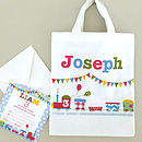 Boy's Invite And Party Bag Set Of 10