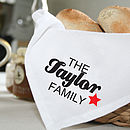 Personalised Linen Napkins