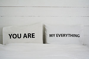 Personalised 'You Are My' Pillowcase Set - bedroom