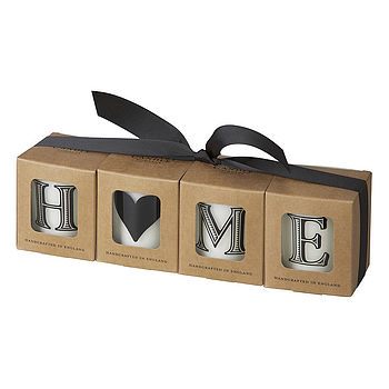 'Home' Scented Candle Gift Set