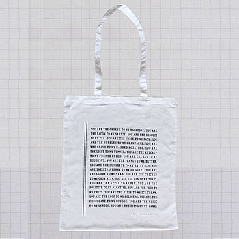 Declaration Cotton Shopping Bag