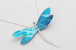 Heligan Dragonfly Pendant - necklaces & pendants