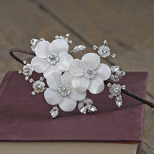 Ophelia Bridal Headdress - wedding fashion