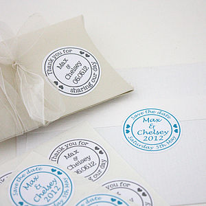 Personalised Wedding Stickers - wedding stationery