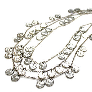 Chains Of Silver Necklace - necklaces & pendants