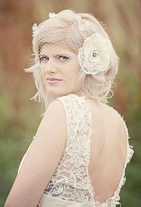 Juliette Flower Headpiece - wedding fashion