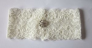 Simply Lace Bridal Garter - wedding dresses & accessories