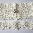Simply Lace Bridal Garter