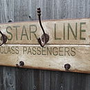 White Star Line Hook Board