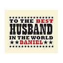 World's Best Husband Chocolate