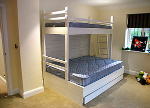 Triple Bunk Bed - furniture