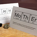 Father Or Mother Humourous Science Card