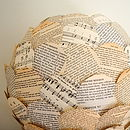 Rhythm And Read Paper Lamp Shade