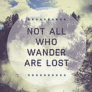 Not All Who Wander Close Up