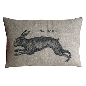 The Hare Cushion - cushions
