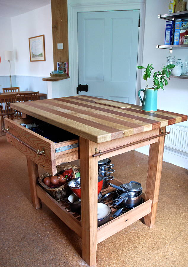 bespoke kitchen island by the old school carpentry company bespoke kitchen islands