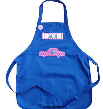Boy's Personalised Apron