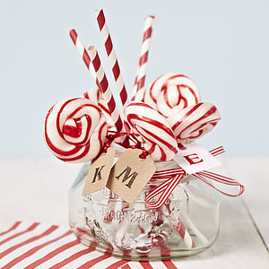 Personalised Love Lollipop - wedding favours
