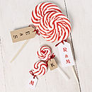 Personalised Love Lollipop