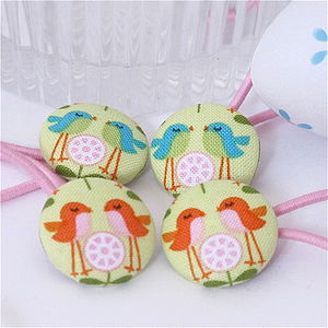 Spring Fabric Hair Bands - children's easter