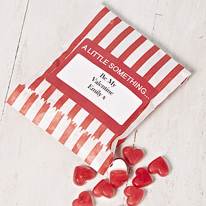 Personalised Heart Throb Sweets - wedding favours