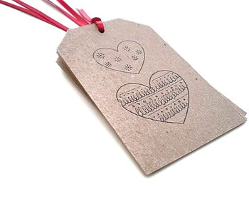 Rustic Heart Gift Tags