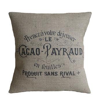 Cacao Payraud Cushion Cover
