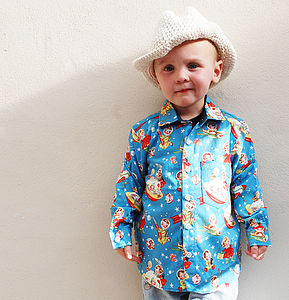 Boys Rocket Rascals Shirt - wedding and party outfits
