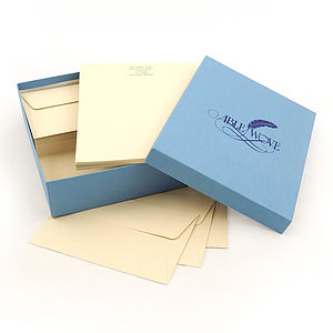 Headed Writing Paper Set - stationery