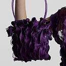 Foxglove Handmade Silk Handbag