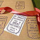 Handmade Great Present! Gift Wrapping Paper