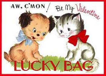 Dog Valentines Day Lucky Bag