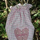 Personalised Handmade Laundry Bag