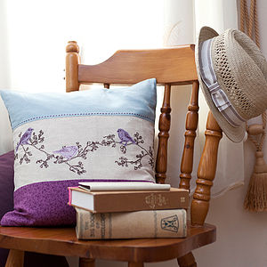 Birdsong Cushion - cushions