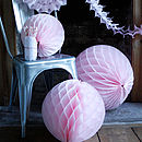 Pack Of Paper Wedding Decorations