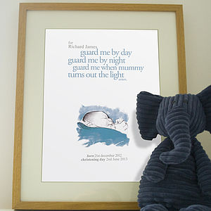 Personalised Baby Print - pictures & paintings