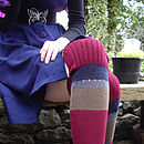 Handmade Knitted Knee Length Socks
