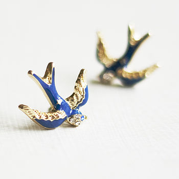 Bluebird Stud Earrings