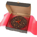 Warm Chilli Chocolate Pizza